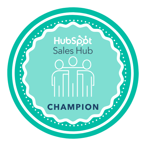 Sales Hub Champion User
