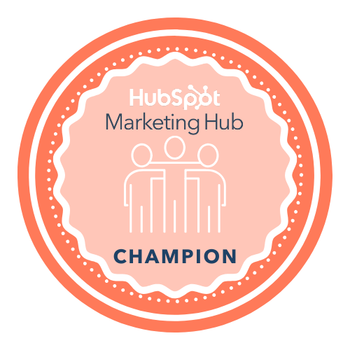 Marketing Hub Champion User